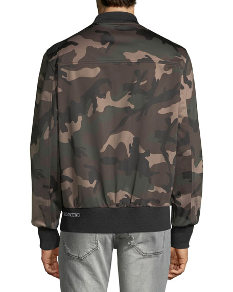 Men's Army Camo Track Jacket