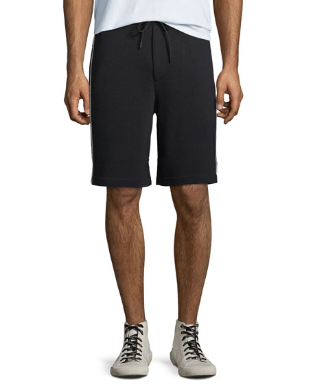 Valentino Men's Logo-Taping Track Shorts
