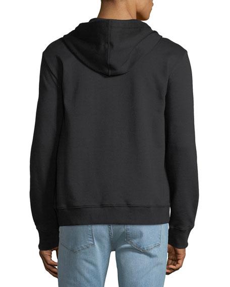 Men's Logo-Front Zip-Front Hoodie