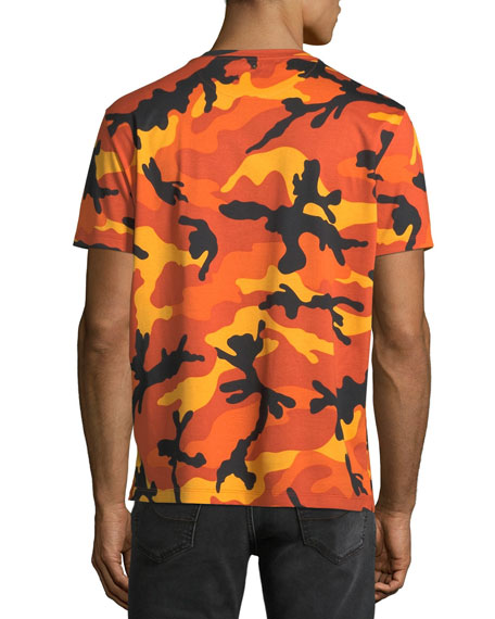 Men's Camouflage Crewneck T-Shirt