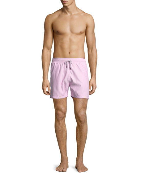 Solid Swim Trunks, Pink