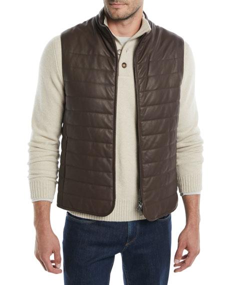Men's Calfskin City Master Vest