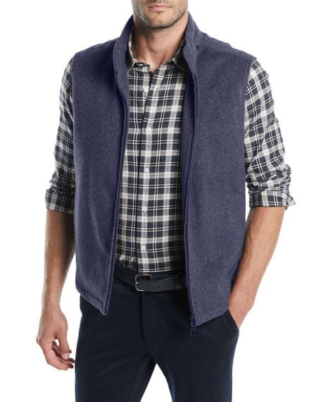 Loro Piana Men's Bandon Cashmere Storm Vest