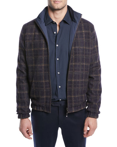 Men's Duo Reversible Bomber Jacket