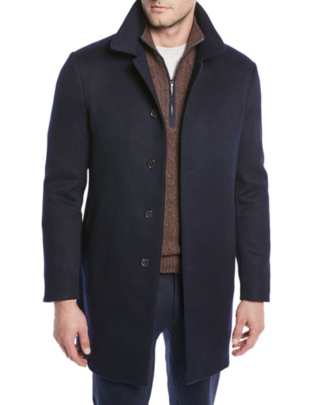 Men's Sidney Cashmere Coat
