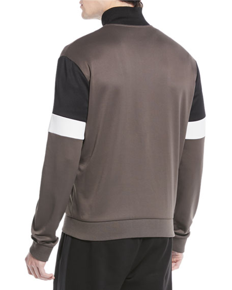 Men's Colorblock Zip-Front Track Jacket