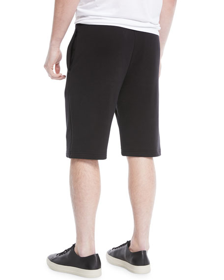 Men's Solid-Knit Sweat Shorts