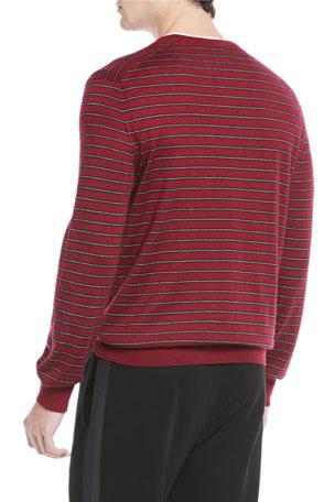 $775 Dolce /& Gabbana Men/'S Black V Neck Cashmere Silk Cardigan Sweatshirt 42//52