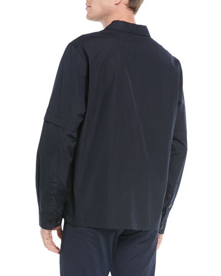 Men's Twill Shirt Jacket