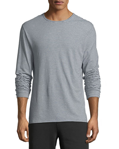Men's Feeder Striped Long-Sleeve T-Shirt