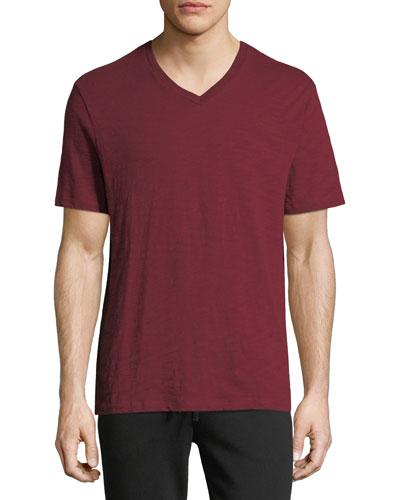 Men's V-Neck Jersey T-Shirt