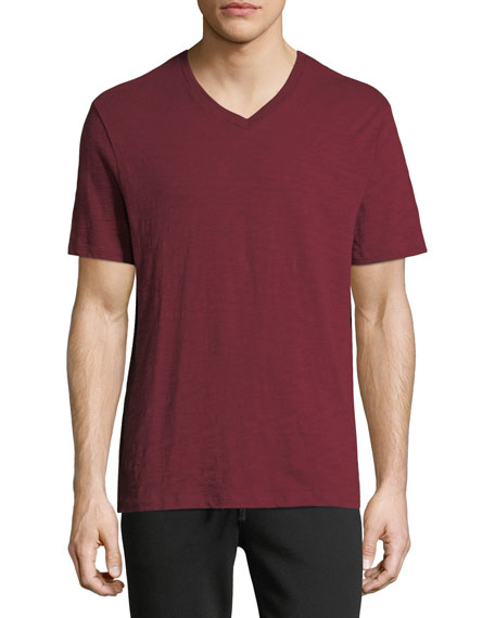 Men's V-Neck Jersey T-Shirt