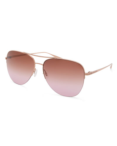 Men's Chevalier Gradient Aviator Sunglasses