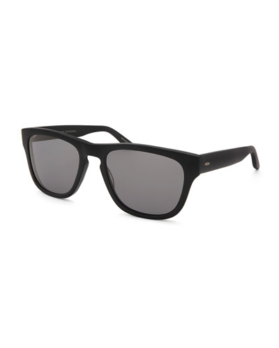 Men's Bunker Square Plastic Sunglasses