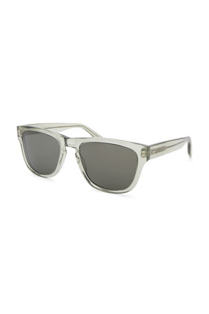 Barton Perreira Men's Bunker Plastic Square Sunglasses