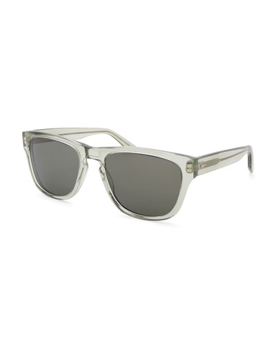 Men's Bunker Plastic Square Sunglasses