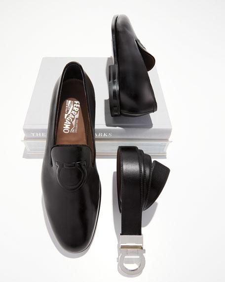 Men's Gancio Reversible Leather Belt