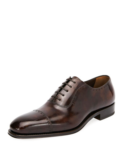 Men's Brawell Cap-Toe Oxford