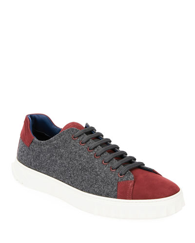 Men's Cube 11 Wool Low-Top Sneakers