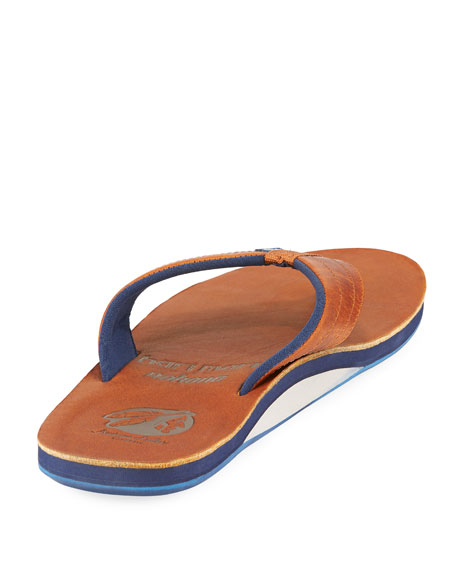 x Nokona Men's Leather Thong Sandals, Generation