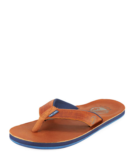 Hari Mari x Nokona Men's Leather Thong Sandals,