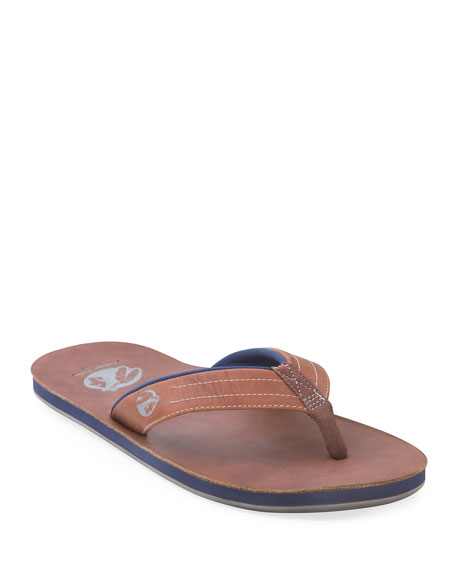 Hari Mari x Nokona Men's Leather Thong Sandal,