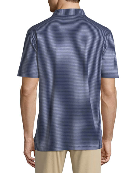Men's Gardner Stripe Crown Ease Polo Shirt