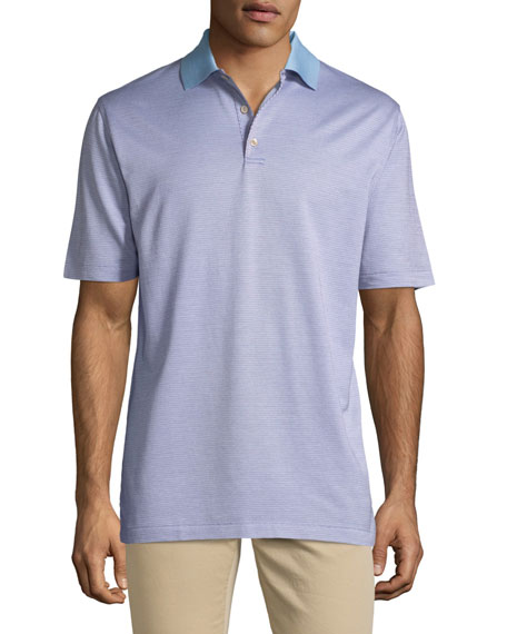 Men's Honey Run Jacquard Crown Ease Polo Shirt
