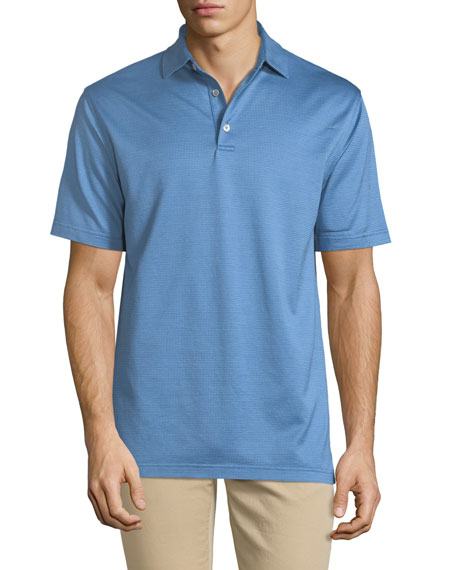 Men's Pleasant Pin Dot Polo Shirt