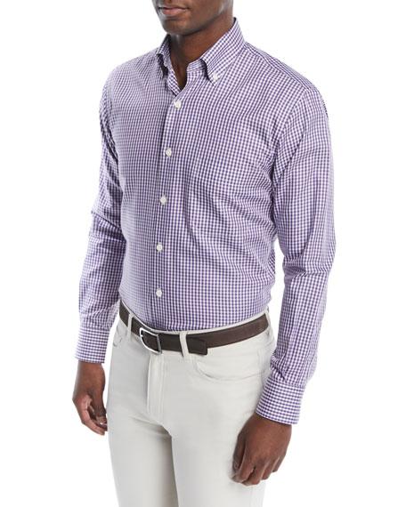 Men's Crown Soft Gingham Sport Shirt