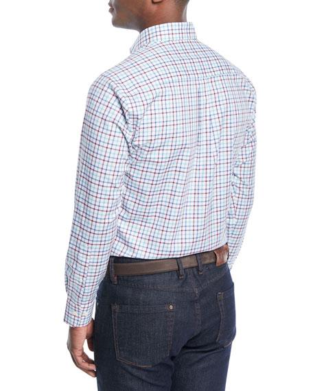 Men's Crown Ease Eyre Tattersall Sport Shirt