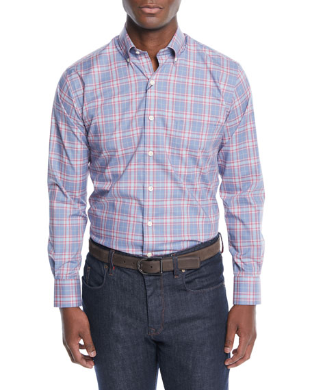 Peter Millar Men's Crown Ease Archipelago Plaid Sport