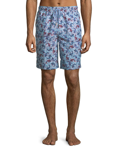 Peter Millar Men's Koi Pond Swim Trunks