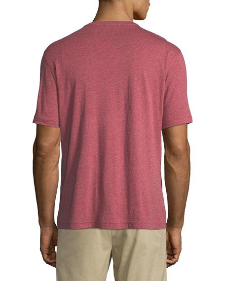 Crown Cotton-Modal Crewneck Pocket T-Shirt