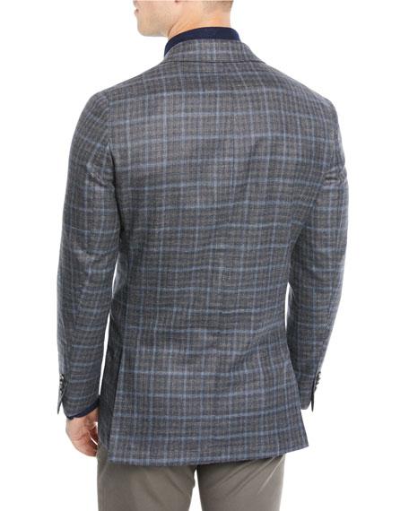Men's Crown Soft Plaid Blazer Jacket