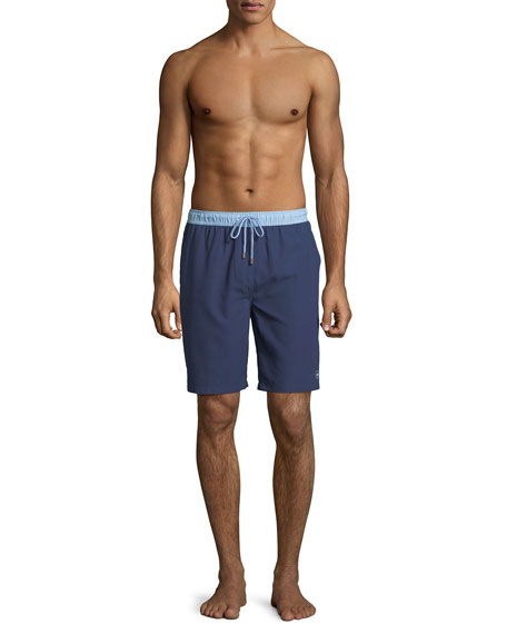Men's Nautilus Two-Tone Swim Trunks