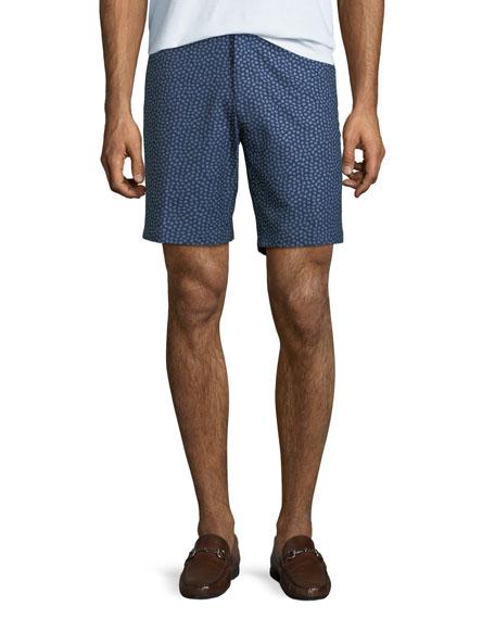 Men's Paisley Pine-Print Shorts
