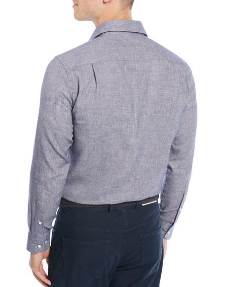 Men's Santorini Summer Birdseye Sport Shirt