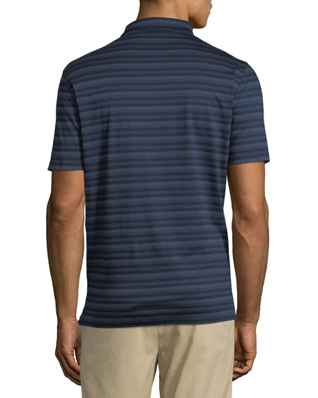 Men's Tides Striped Polo Shirt