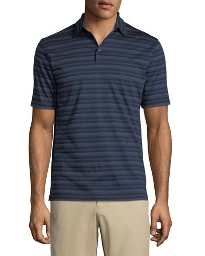 Men's Tides Striped Polo Shirt