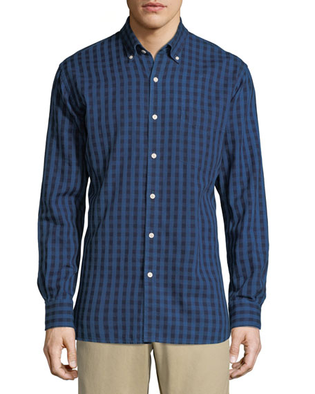 Men's Portage Gingham Woven Pocket Sport Shirt