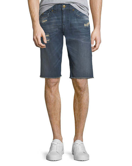 Men's Ricky Straight-Leg Denim Shorts