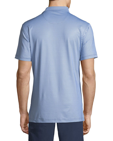 Men's Guitars Print Polo Shirt