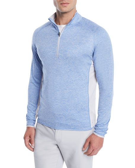 Peter Millar Men's Sydney Colorblock Pullover Sweater