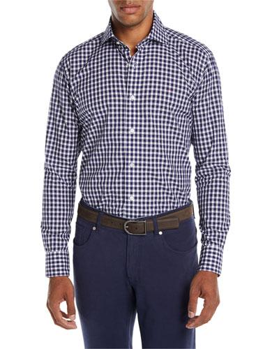 Men's Boucle Gingham Sport Shirt