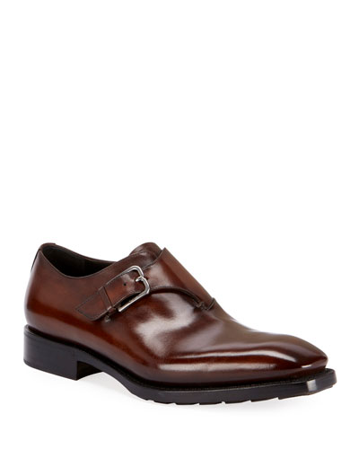 Men's Venezia Monk-Strap Shoe