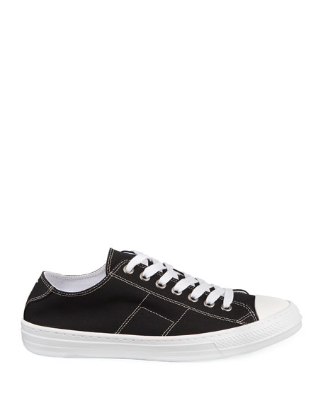Men's Stereotype Canvas Low-Top Sneakers