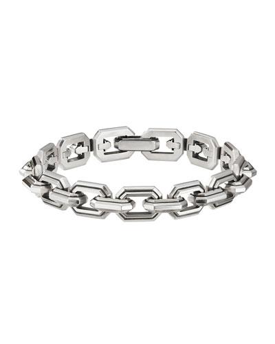Men's Deco Link Chain Bracelet