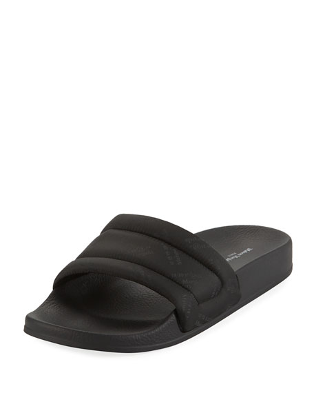 Maison Margiela Men's Future Logo Slide Sandals
