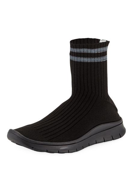 Men's High-Top Sock Running Sneakers